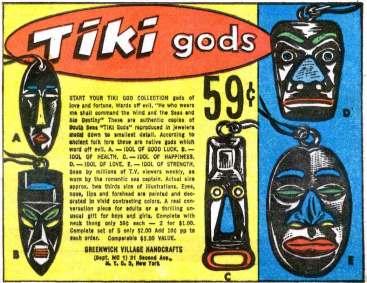 Tiki-Gods
