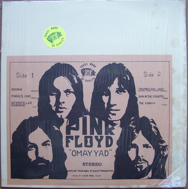 Pink Floyd Original Vinyl Bootleg Albums 00individual