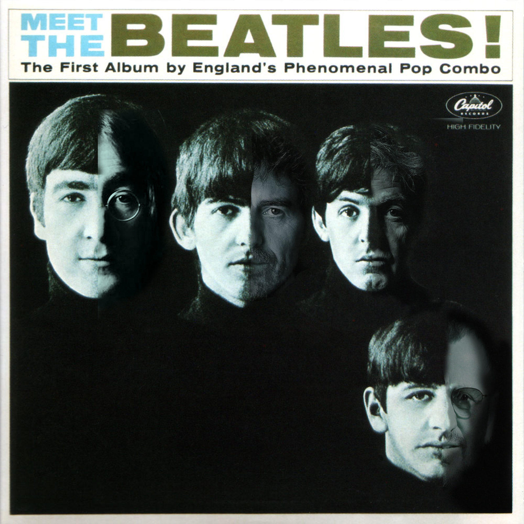 record album meet the beatles